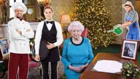 Buckingham necesita empleados para su jardín, su cocina y el servicio.