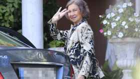La reina Sofía ha sido, como casi siempre, la primera en llegar a Marivent.