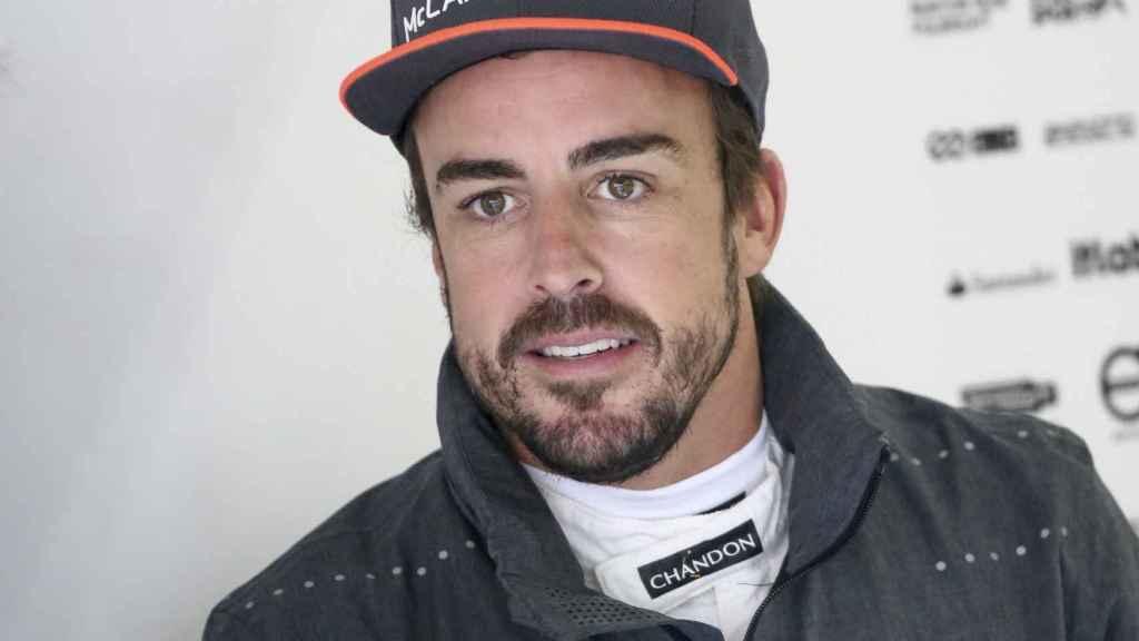 Fernando Alonso en el pasado Gran Premio de China.