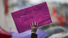 Imagen de una protesta contra la violencia de género.