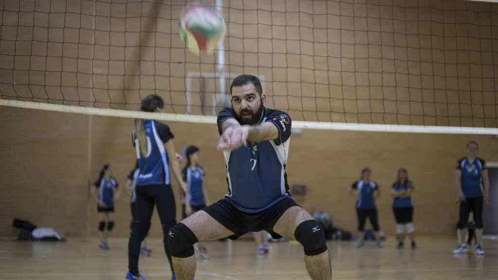 Víctor Boscatti es uno de los más de 350 deportistas que forman el club LGTBI GMadrid