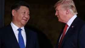 Donald Trump y el presidente chino, Xi Jinping se reunieron a principios de abril.