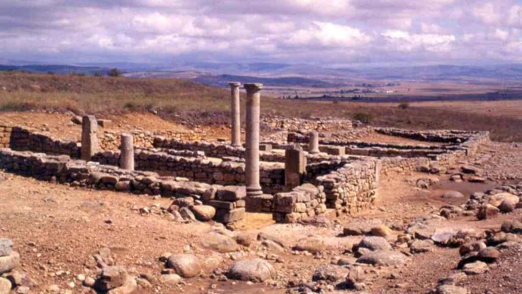 Imagen de las ruinas de Numancia.