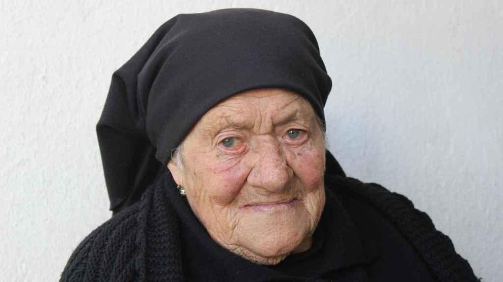 María de los Ángeles Santos tiene 97 años y es sobrina de la Hermana Lucía