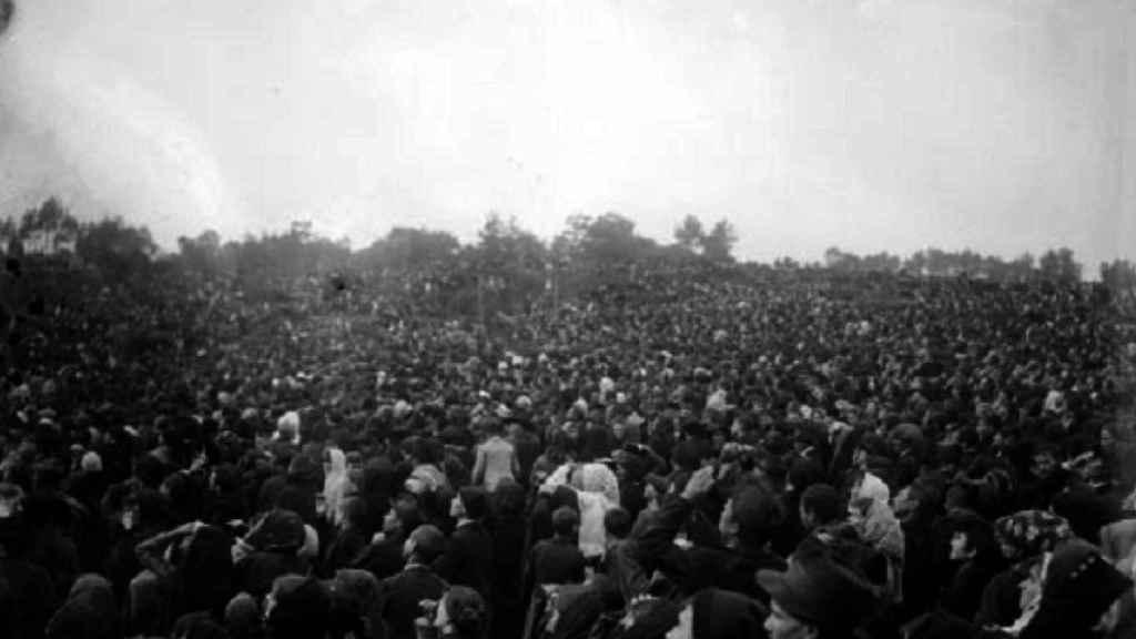 Más de 70.000 personas presenciaron el milagro del sol el 13 de octubre de 1917