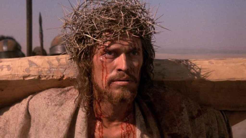 Willem Dafoe en La última tentación de Cristo.