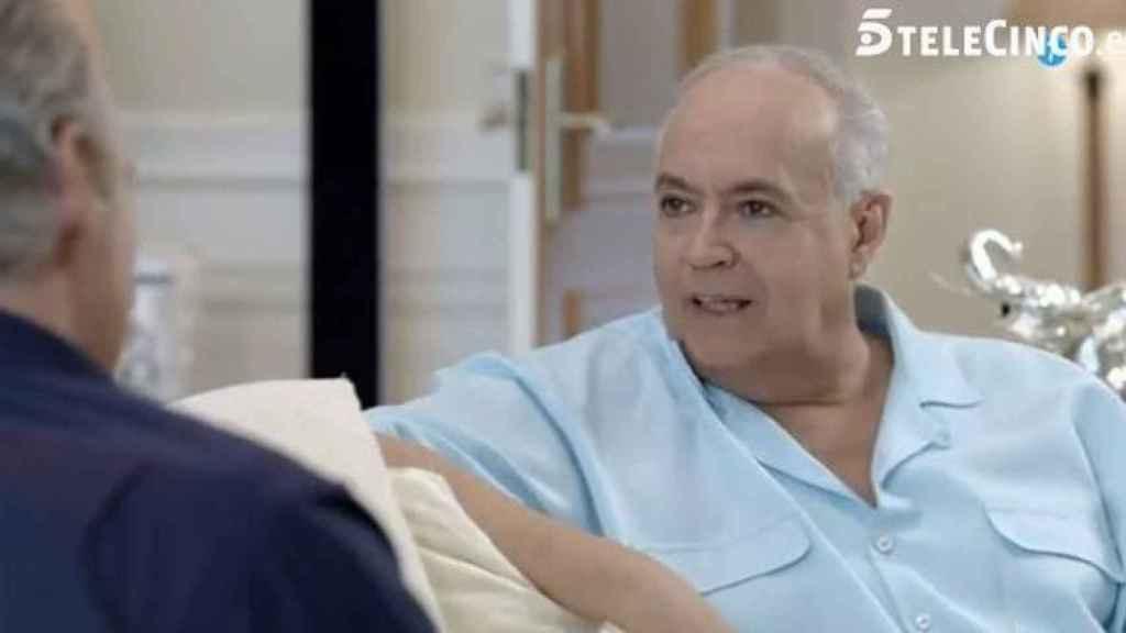 José Luis Moreno ha sido el único rostro de Telecinco que ha acudido al programa.