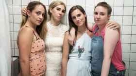 Las cuatro protagonistas de Girls en uno de los últimos episodios de la serie.