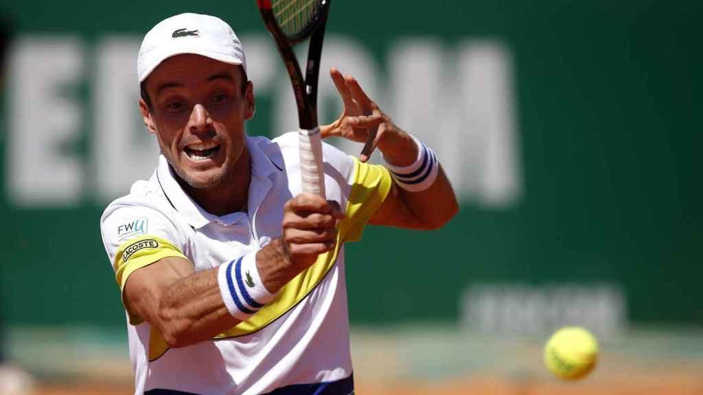 Bautista, en su debut en el Masters 1000 de Montecarlo.