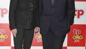 Teresa Rabal y Eduardo Rodrigo en los premios TP 2011.