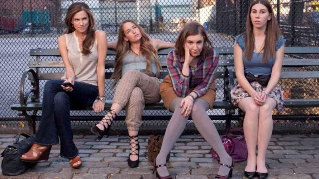 Las cuatro chicas que han convertido a Girls en la serie de una generación.