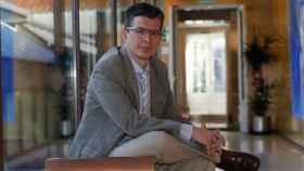 Wladimir Alonso, en la sede de la Fundación BBVA