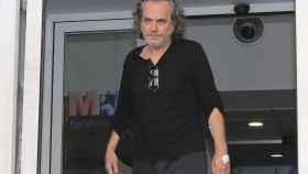 José Coronado, a su salida del hospital La Princesa.