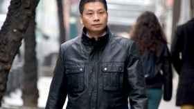 El empresario chino Gao Ping en una imagen de archivo en la entrada de la Audiencia Nacional.