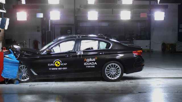 Últimos resultados EuroNCAP, un destacable BMW Serie 5 se hace con la puntuación máxima