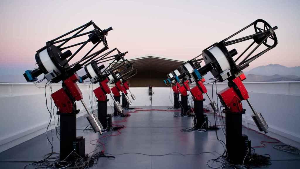Conjunto de telescopios MEarth-1.