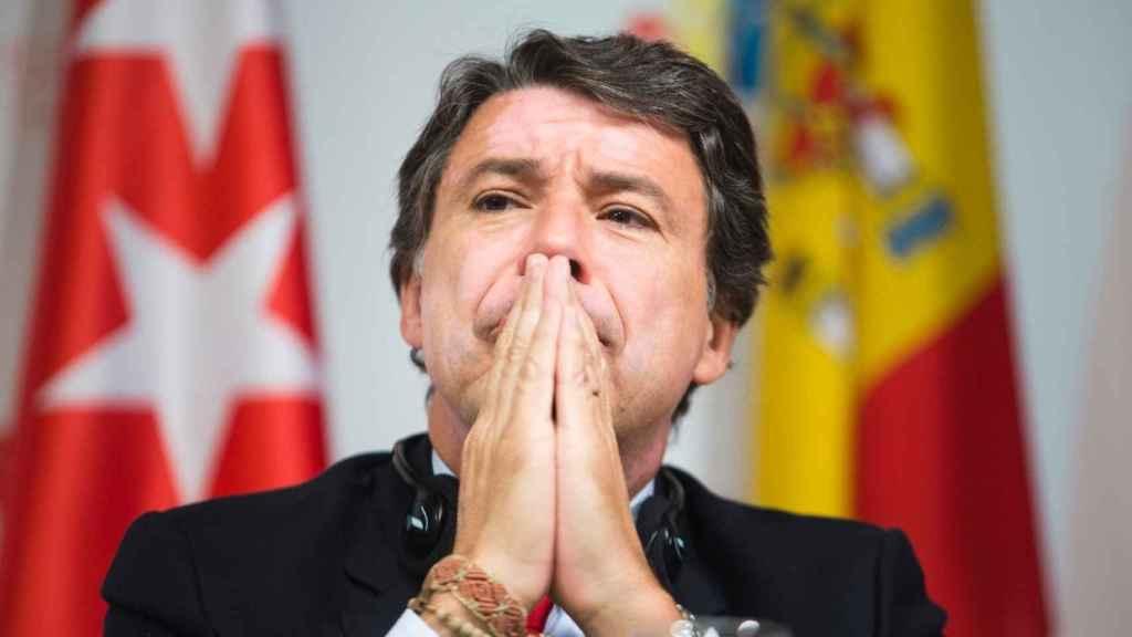 Ignacio González durante su presidencia en la Comunidad de Madrid.