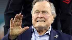 El expresidente Bush padre, en una imagen del pasado febrero.