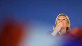 Marine Le Pen, en un acto de campaña.