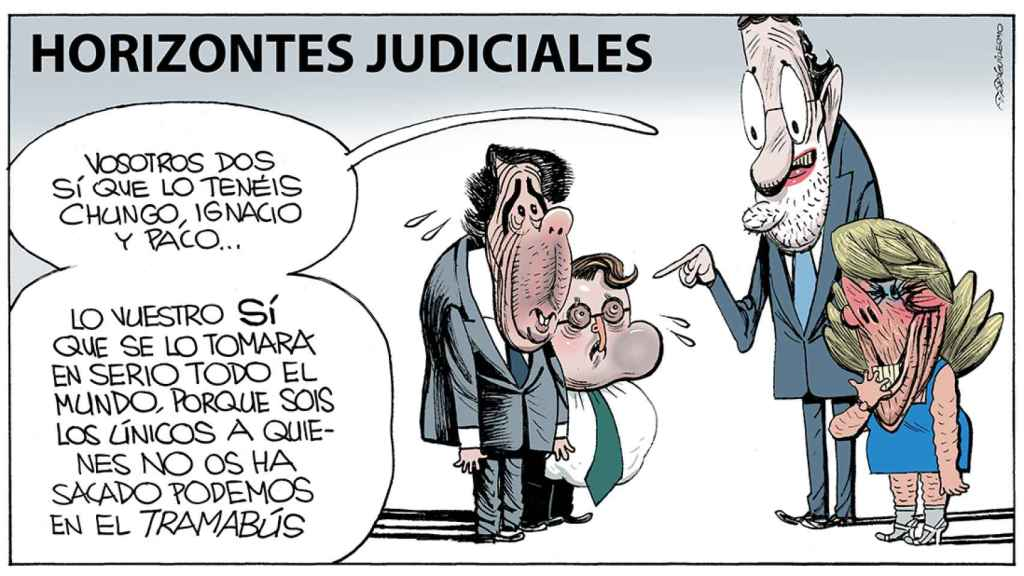 La 'Operación Lezo', a través de la mirada del dibujante Guillermo.