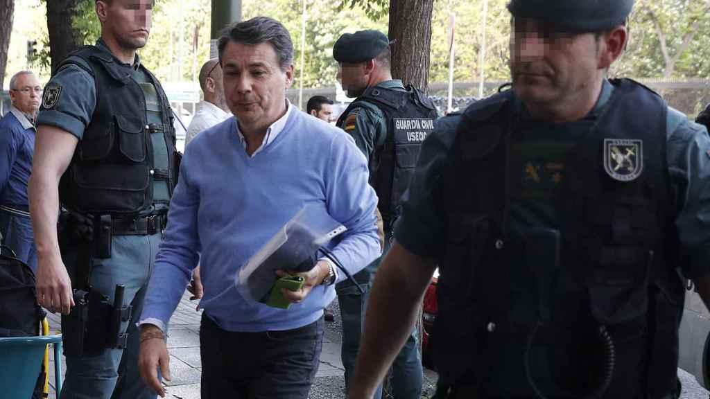 El expresidente de la Comunidad de Madrid, Ignacio González, el día de su detención.