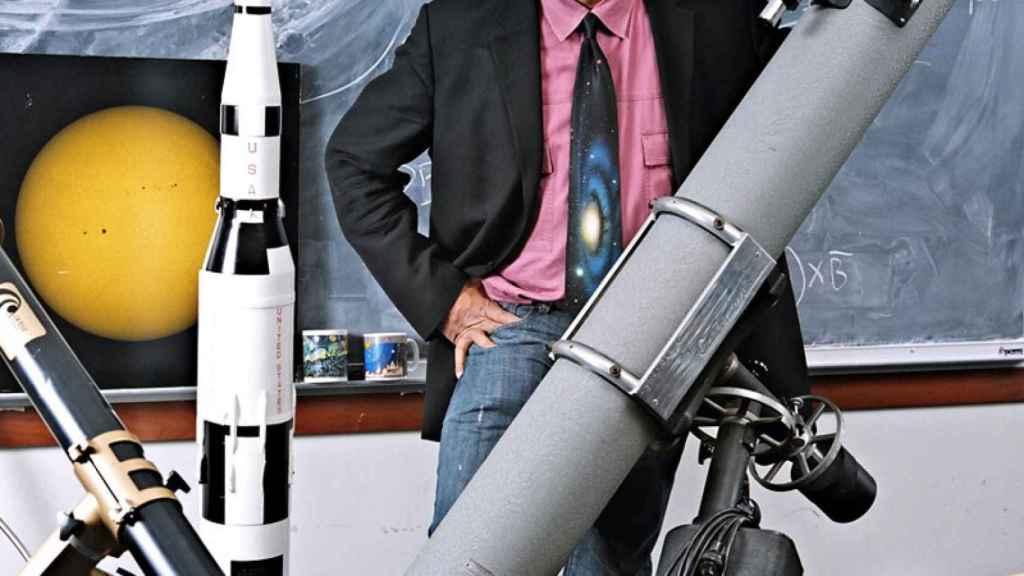 Además de astrofísico y divulgador, Neil deGrasse Tyson dirige el Planetario Hayden.