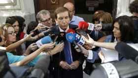El responsable de la Fiscalía Anticorrupción, Manuel Moix.