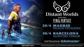 Distant Worlds: la música de Final Fantasy llega a España