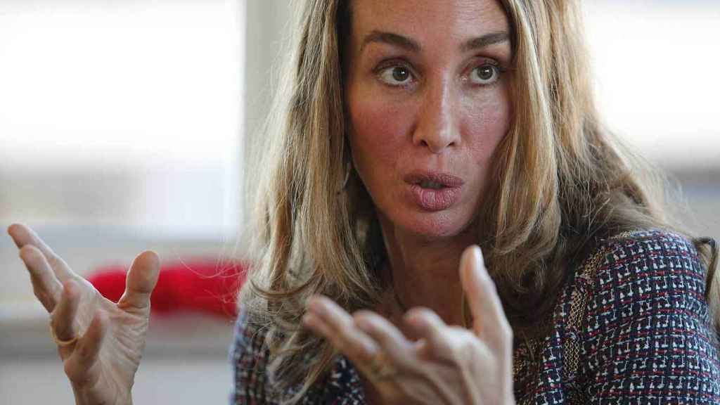 La doctora Elisa Pinto durante su visita a la redacción de EL ESPAÑOL.