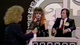 Alaska, el Fary y Mayra Gómez Kemp, en el 'Un, dos, tres…', en 1984.