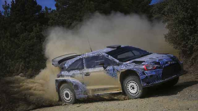Andreas Mikkelsen prueba el Hyundai i20 WRC