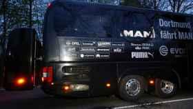El autobús del Dortmund sufrió un ataque con bomba