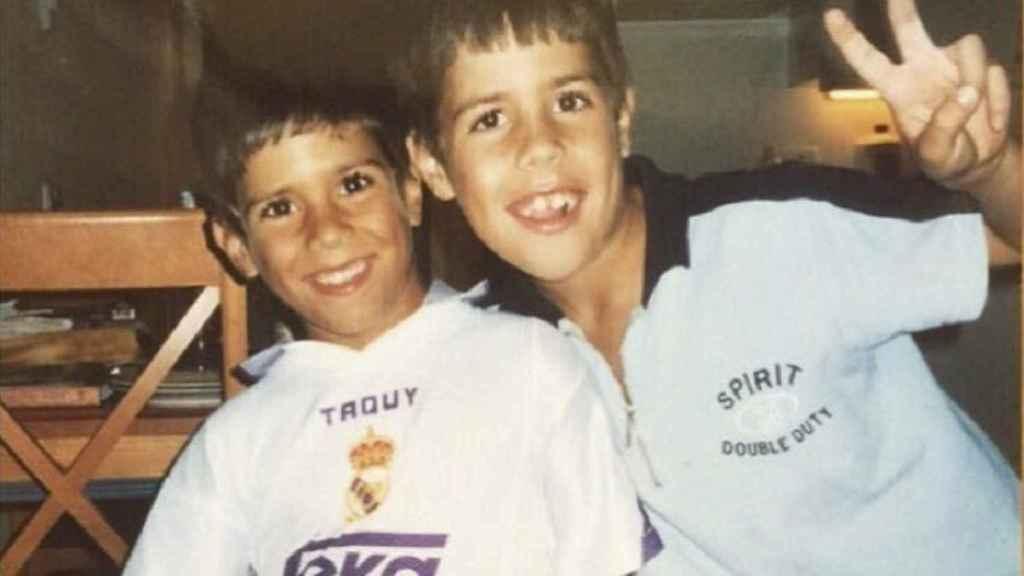 Marco Asensio presume de madridismo. Foto: Twitter (@marcoasensio10)