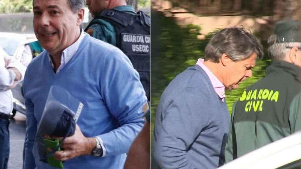 Ignacio González (i) y su hermano, Pablo González (d), ambos detenidos.