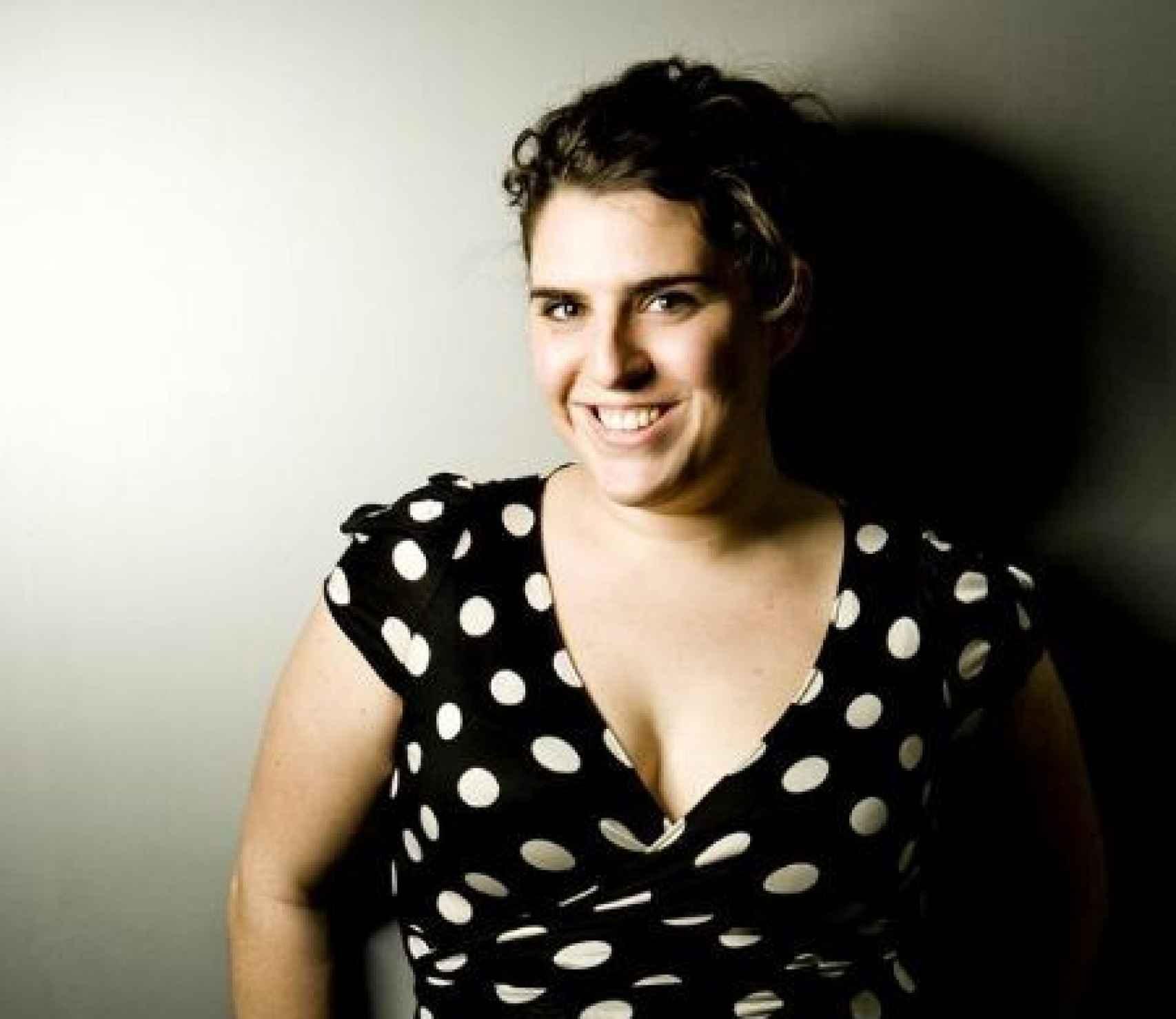 Berta de la Dehesa, en una foto de su anterior vida, como actriz de series y cine.
