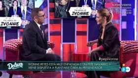 Tensión entre Ivonne Reyes y Jorge Javier ante las cláusulas de la entrevista