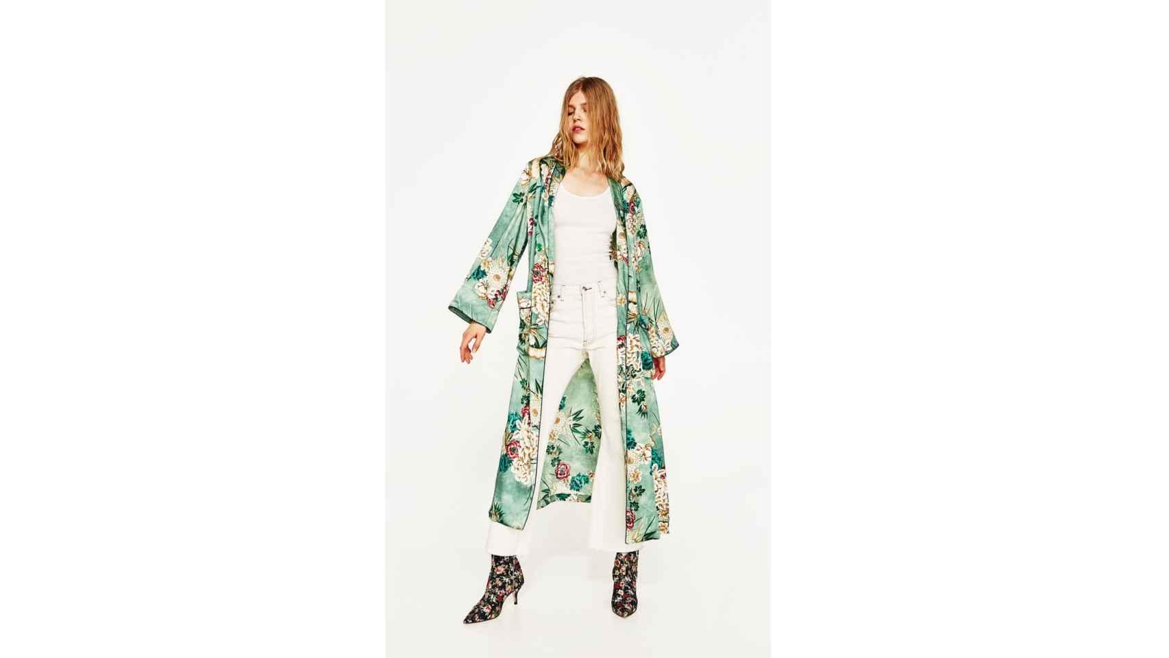 Kimono, prenda estrella del entretiempo