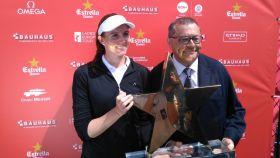 Florentyna Parker, ganadora del Estrella Damm Mediterranean Ladies Open.