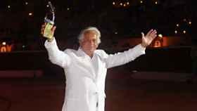 Palomo Linares en una corrida benéfica