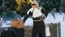Cameron Diaz en la película The Holiday (2006) donde aparece el turismo colaborativo.