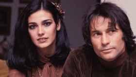 Marina Danko y Palomo Linares a finales de los años 80.