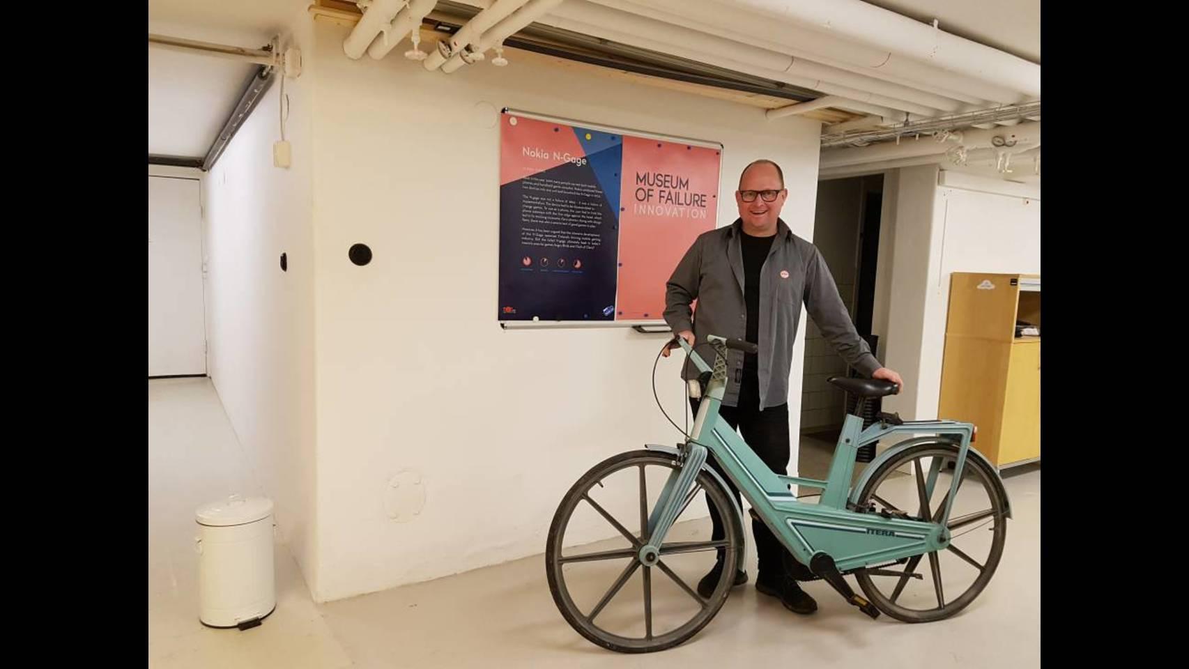 Uno de los 50 productos fallidos que recoge el Museo de los Fracasos que abrirá en junio en Suecia.