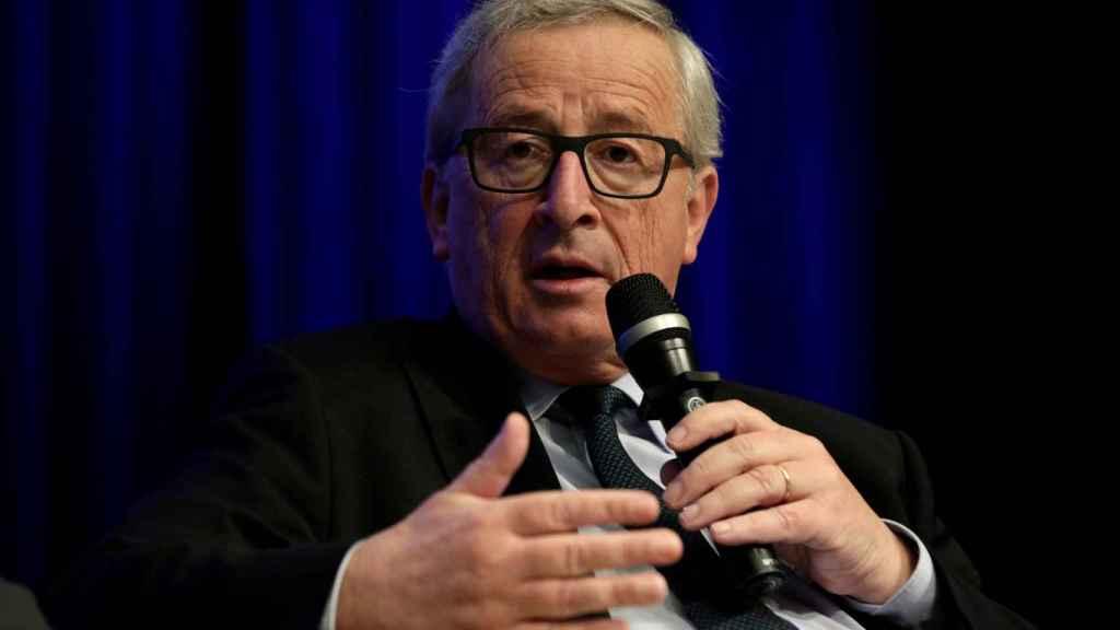 Juncker ha felicitado a Macron por su resultado en la primera vuelta