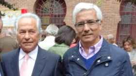 Palomo Linares junto a José Luis Seseña.