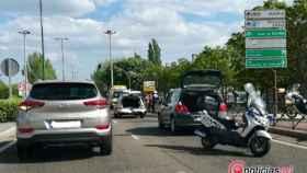 accidente valladolid avenida zamora trafico 1