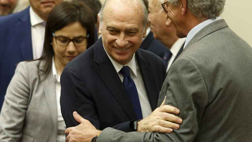 El ministro Jorge Fernández Díaz ha padecido un cáncer de hígado.