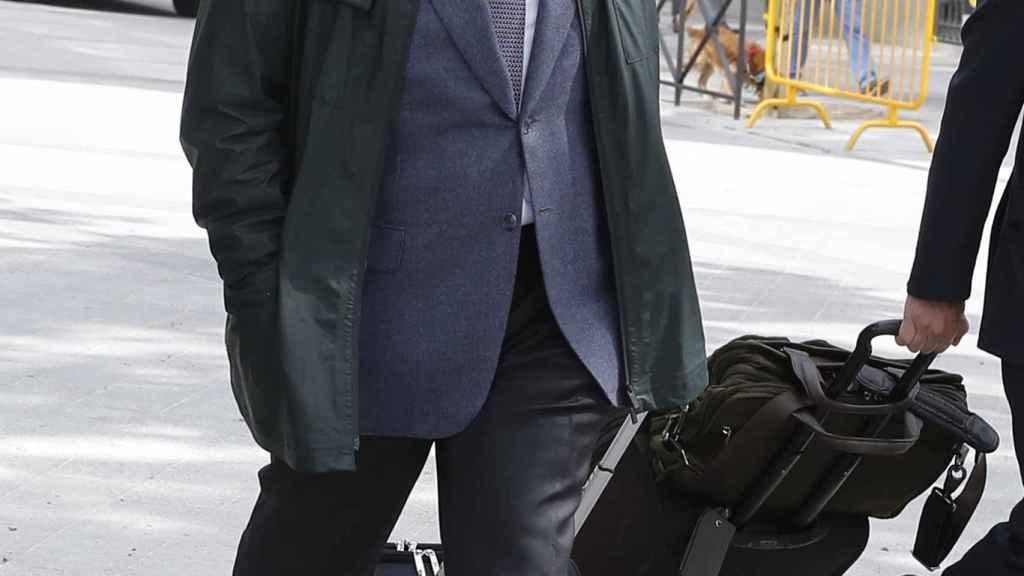 Jordi Pujol Jr. a la llegada a ala Audiencia Nacional.