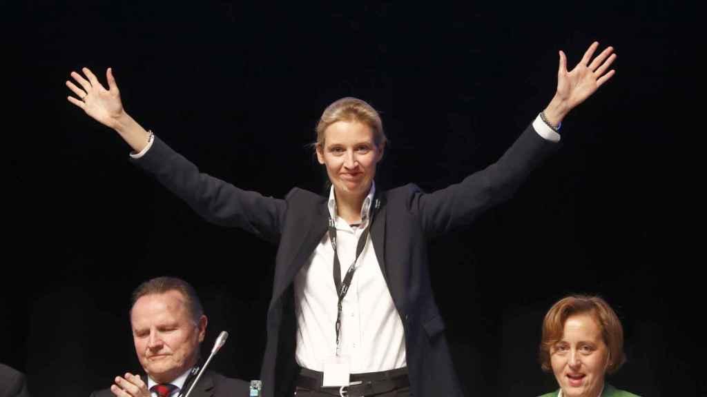 Alice Weidel es una de las líderes de AfD.
