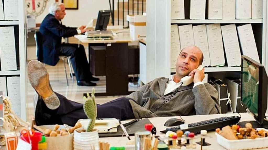 Checco Zalone es el actor de moda en Italia.