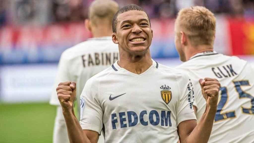 Mbappé. Foto: Twitter (@AS_Monaco)